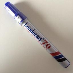 Leaderart Leaderart 70 stift blauw lijn 1-3 mm