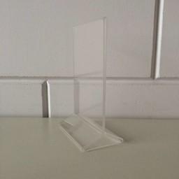 Menu-standaard acryl A6 - 10x15 cm
