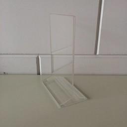 Menu-standaard acryl A5 - 15x21 cm