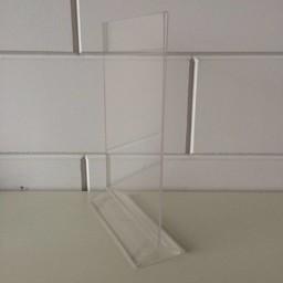 Menu-standaard acryl A4 - 21x30cm