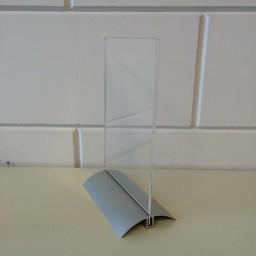 Presenter A5 - 15x21cm met alu-voet