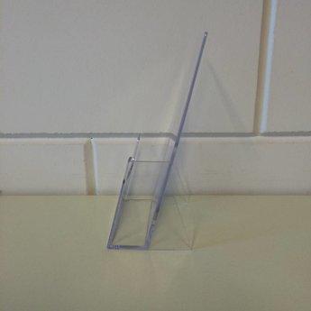 Folderbakje voor brochures 1/3 A4 (op de maat 100x210 mm)