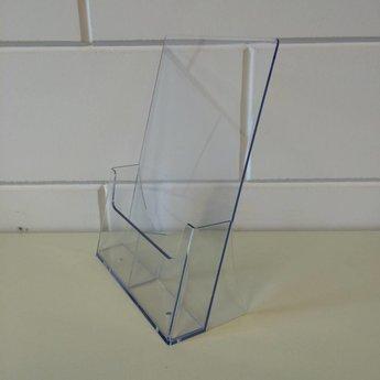 Folderbak staand model met 2 vakken naast elkaar