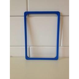 Prijskaartraam A4 blauw  profiel-1