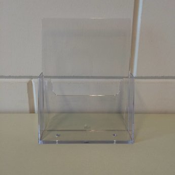 Folderbakje voor meerdere brochures op formaat Din A5 - 148x210 mm