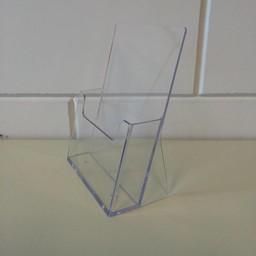 Folderbak A5 staand transparant