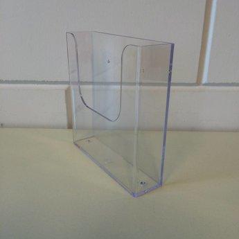 Folderbakje voor folders 15 cm breed / Din A5