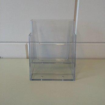 Folderstandaard met 2 vakken elk voor het formaat 148x210 mm