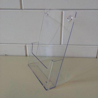 Folderbak transparant voor folders Din A4 - 210 x 297 mm