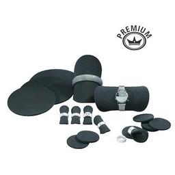 Presentatie set schijven 15-delig zwart