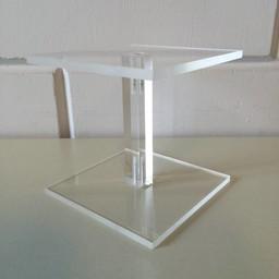 Acryl-zuiltje 10x10cm hoog 100mm