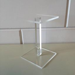 Acryl-zuiltje 10x10cm hoog 150mm