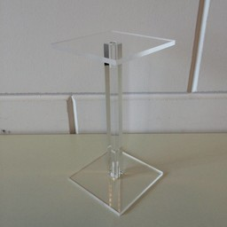 Acryl-zuiltje 10x10cm hoog 200mm