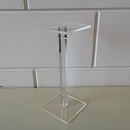Acryl-zuiltje 10x10cm hoog 250mm