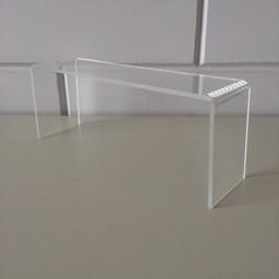 Acryl-bruggetje 25x7cm hoog 100mm
