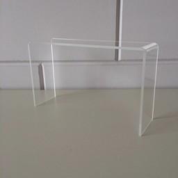 Acryl-bruggetje 25x7cm hoog 150mm