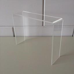 Acryl-bruggetje 25x7cm hoog 200mm