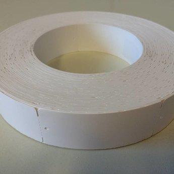 Hangetiket op rol 91x39 mm blanko onbedrukt  1000/rol