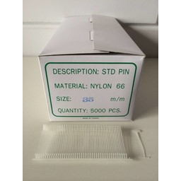 Nylon textielpins  35mm standaard 5000st