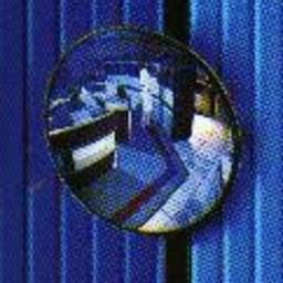 Bewakingsspiegel vlak diameter 30 cm