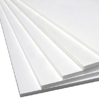 Foamboard PVC schuim wit  841x594x5,0 mm