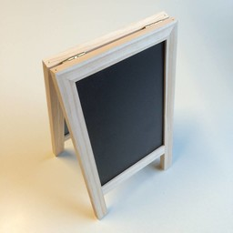 Tafel krijtbord mini 15x25cm