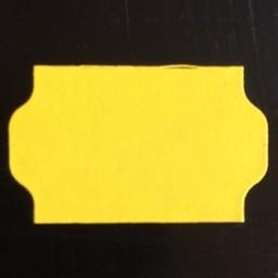 Etiket 3219 geel perm golfrand    30.000