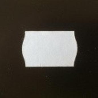 Etiket 2516 golfrand wit diepvries kleefkracht  39.600 etiketten. ( 36 rollen