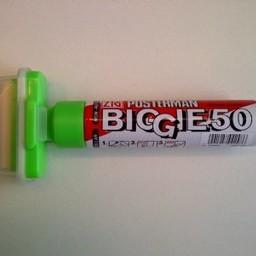 ZIG Posterman Posterman Biggie extra breed 50mm groen