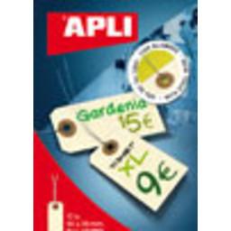 Apli Labels 80x38 mm 10 stuks met metaaldraad