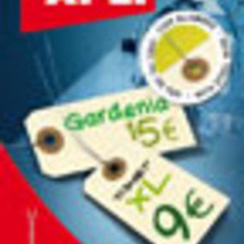 Apli Apli-nr. 101662  Labels 80x38 mm verpakking met 10 stuks met metaaldraadjes. Shipping tags. Om te beschrijven met pen, van prijs of nummer.