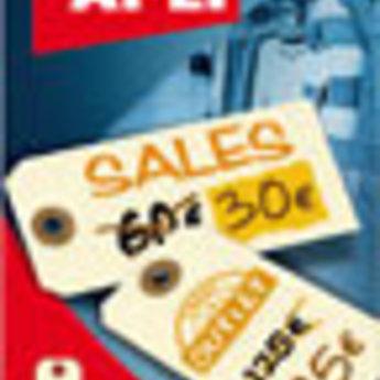 Apli Apli-nr. 101660  Labels 100x51 mm verpakking met 12 stuks. Shipping tags. Om te beschrijven met pen, van prijs of nummer.