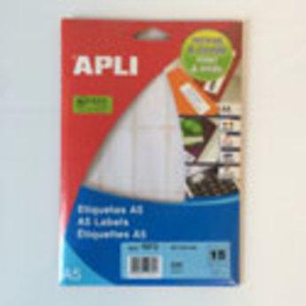 Apli Apli-nr. 01872 mapje universele permanent etiketten  26x54 mm - 255st