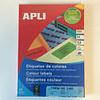 Apli Apli laser A4 etiketten 70x37mm  geel