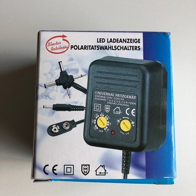 Adapter universeel 3V - 300mA - Dummycam