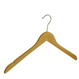 Houten hanger 43 cm met rokinkepingen