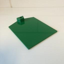 Voetplaat kunststof-zwaar - groen