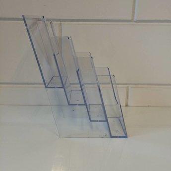 4-Vaks wandfolderbak voor folders 1-3 A4