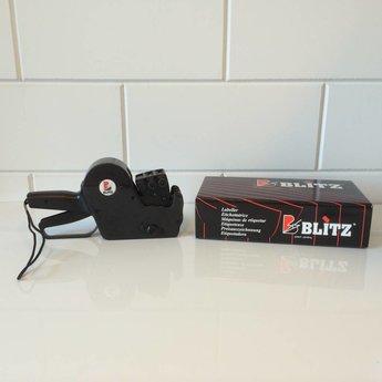 Blitz Prijstang BLITZ of Open 3219 afdruk boven 11 Letterbanden en onder 7 cijfers en €-teken. Type L17
