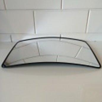 Bewakingsspiegel vlak 40x60 cm van acryl, compleet met ophangbeugel.