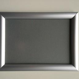 Klik-lijst 15x21  cm ALU-klap -A5 recht