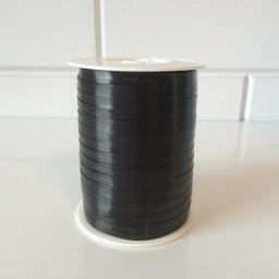 Krullint 5mm/500 meter zwart