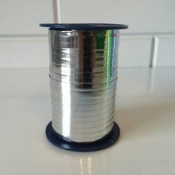 Krullint 5mm/400 meter zilverglans