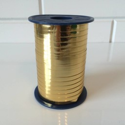 Krullint 5mm/400 meter goudglans
