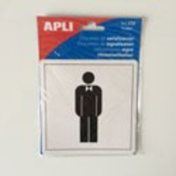 Apli Pictogram  Toilet Heren