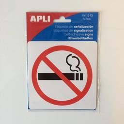 Apli Pictogram  Verboden te roken