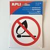 Apli Pictogram  Verboden voor open vuur