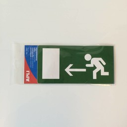 Apli Pictogram  EMERGENCY EXIT LEFT