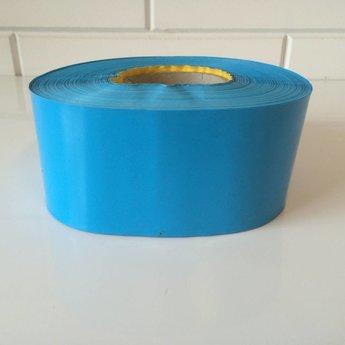 Afbakeningslint - afzetlint 250 m x 8cm blauw. Materiaal is van Polyethyleen, het is grondwaterneutraal en milieuvriendelijk.