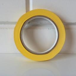 Tape geel 12mm x 66m grote kern